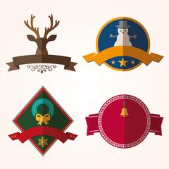 Set of vector Christmas