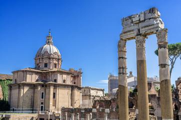 Roma, Tempio di Venere e Chiesa dei Ss. Luca e Martina