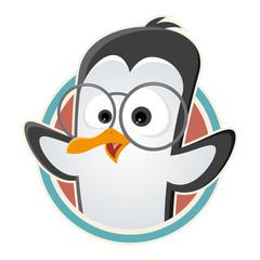 pinguin lustig