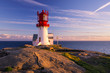 canvas print picture - Lindesnes Lighthouse