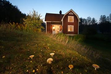 rotes Haus-Smaland Südschweden