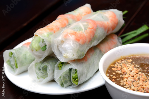 Juliste Fresh Spring Roll