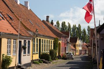 Ærøskøbing schmale Straße