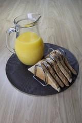 Toast and Orange Juice