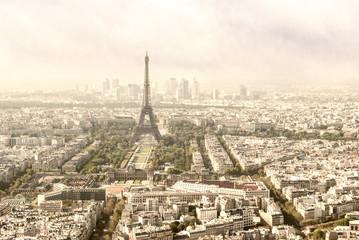 Paris, Tour Eiffel and skyline