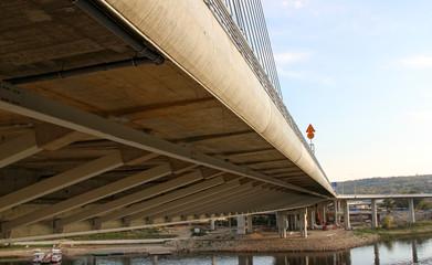New bridge in Belgrade,Serbia
