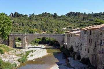 Die neue Brücke von Lagrasse
