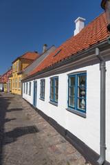 Weißes Haus Ærøskøbing