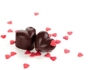 Chocolate candies.