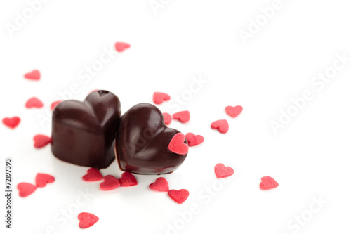 Papiers peints Dessert Chocolate candies.