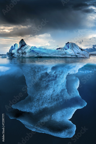 Foto op Aluminium Gletsjers Iceberg