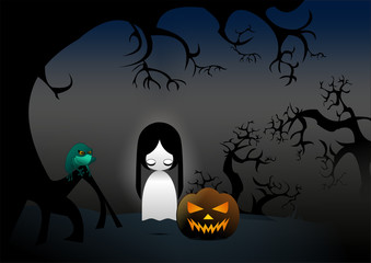 Helloween, Ghost Ilustration