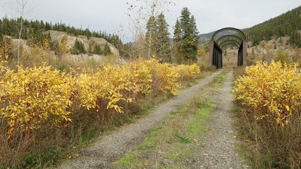 Nicola River Kettle Valley Rail Bridge