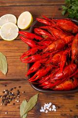 Crawfish boiled