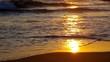 Sonnenuntergang am Meer vid 34