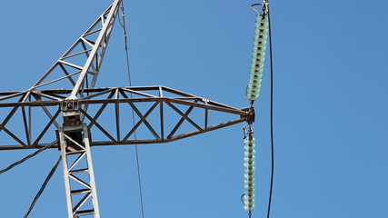 High Voltage Electricity Distribution Pylon Insulator and Power