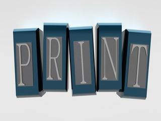 Print Font