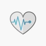 ECG Flat Icon