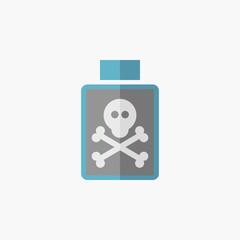 Poison Flat Icon