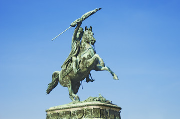 Equestrian monument of Archduke Charles in Vienna