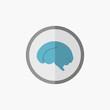 Brain Flat Icon