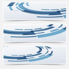 Modern circle round modeling element headers