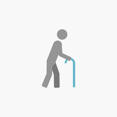 Disability Flat Icon