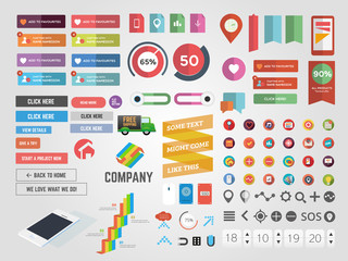 Massive collection of web graphics