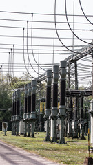 Kraftwerk- Umspannwerk