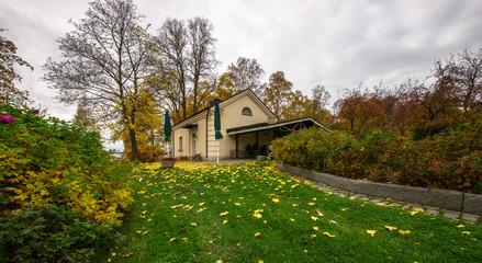 Golden Autumn. Tampere, Finland.