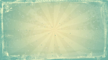 grunge vintage rays loopable background