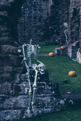 Skeletons In Old Abbey