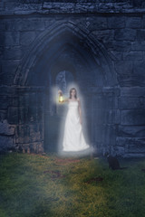 Ghost At The Abbey