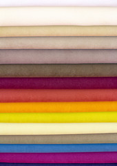 Samples color of fabric