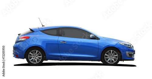 blue sport coupe - 72205950