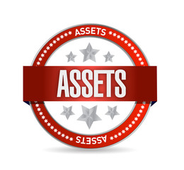 assets seal illustration design