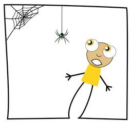 Peur d'une araignée