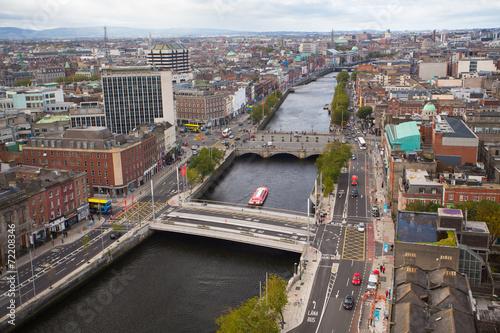 Poster Dublin Skyline