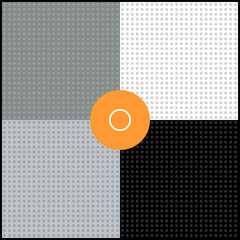 Monochrome geometric backgrounds collection. Circles.