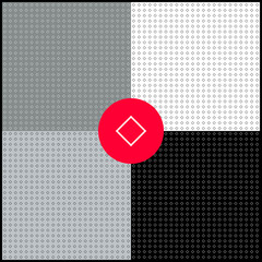 Monochrome geometric backgrounds collection. Diamonds.