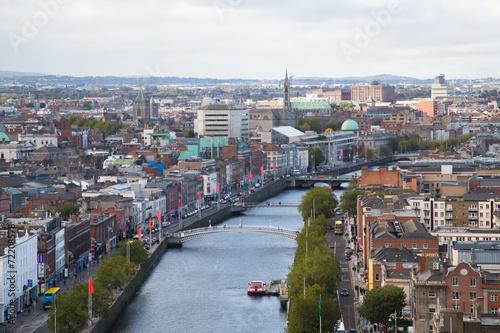Zdjęcia na płótnie, fototapety, obrazy : Dublin Skyline