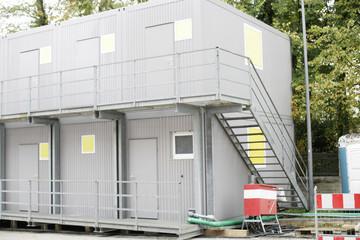 Zugang zu Baucontainer