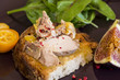 Gourmet French foie gras open sandwich - 72211124