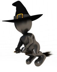 3D Morph Man Witch