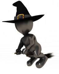 3D Morph Man Witch