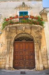 Historical palace. Altamura. Puglia. Italy.