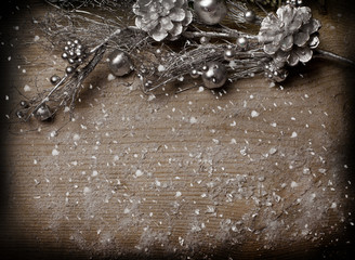 Christmas background for album