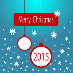 Векторная рождественская открытка