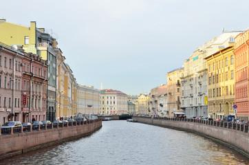 Санкт-Петербург, набережная реки Мойки