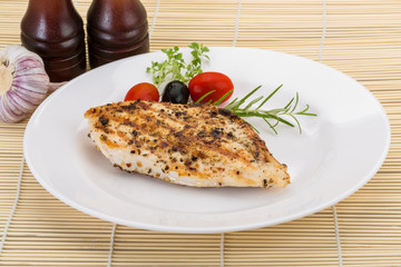 Grilled chichen breast